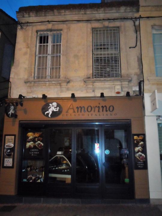 Avignon gelateria amorino Rue Saint Agricol