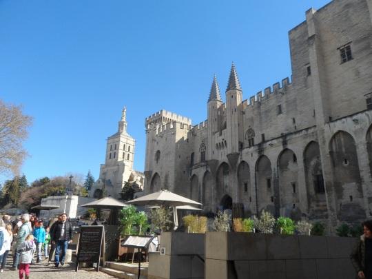 Palais des Papes Avignon France d