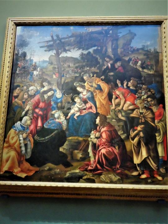 Filippino Lippi Adorazione dei Magi Uffizi b soloalsecondogrado