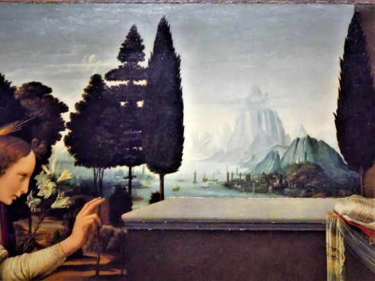 Leonardo da Vinci Annunciazione Annunciation m