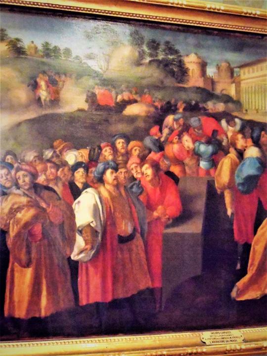 Jacopo Pontormo e Adorazione dei Magi Palazzo Pitti Firenze soloalsecondogrado